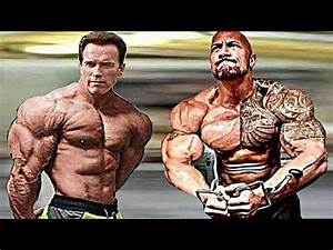 The Rock Training With Arnold Schwarzenegger | Workout ...