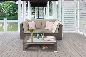 Gartenmöbel Kleiner Balkon : rattanm bel rattan lounge rattan gartenm bel kaufen sie ~ Lateststills.com Haus und Dekorationen