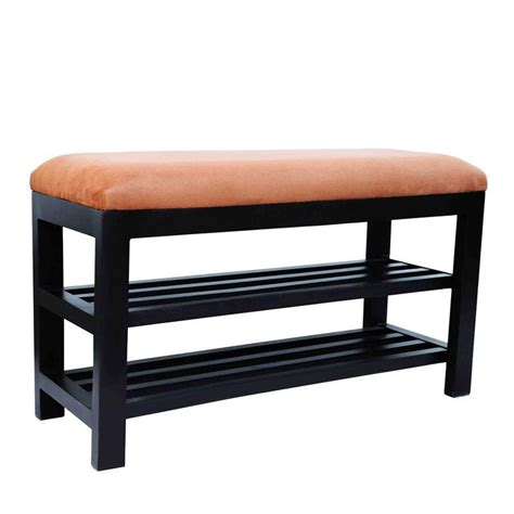 Shoe Entryway Bench by Homcom Wooden Entryway Shoe Rack Storage Bench