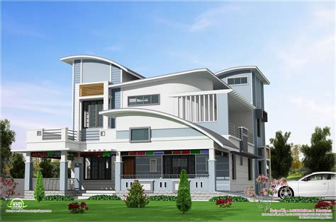 Modern Unique Style Villa Design
