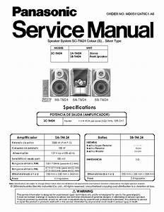Diagrama De Modular Panasonic Sa-tm24