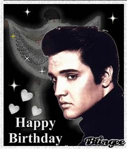 Happy Birthday, Elvis Picture #105411231 | Blingee.com