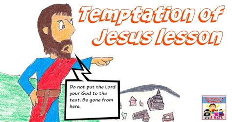 temptation  jesus activity
