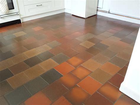 terracotta quarry tile and tiles floor