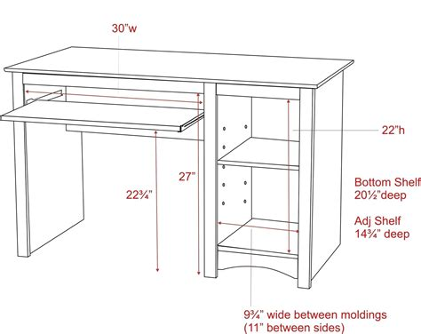 Office Desk Size by Standard Office Desk Height Cm Office Table Desk
