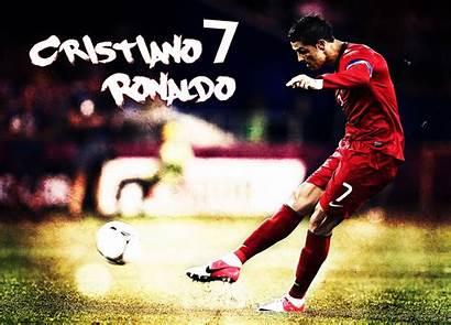 Ronaldo Cristiano Portugal Wallpapers Soccer Desktop Poster