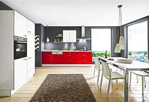 Hochglanz Küche Rot by Rote Lack K 252 Che Hochglanz Mit Beton Arbeitsplatte Sofort