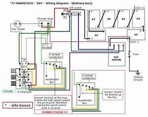 Marketeer Golf Cart Wiring Diagram With Shunt