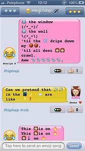emoji songs App for iPad - iPhone - Entertainment