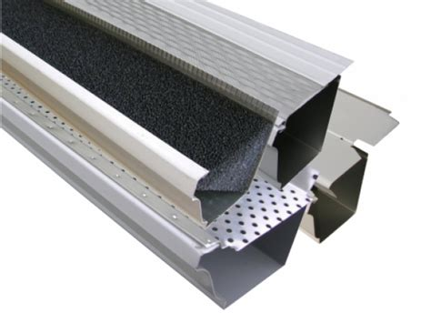 decorating with leaf guards stainless steel gutter guard placestwosee