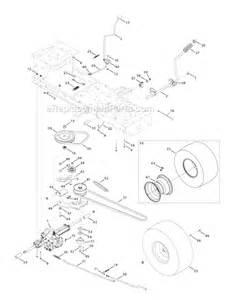 troy bilt 13wn77ks011 parts list and diagram pony