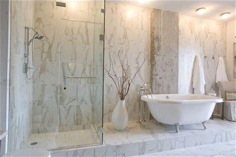 porcelain bathroom tile ideas calacatta porcelain tile contemporary bathroom