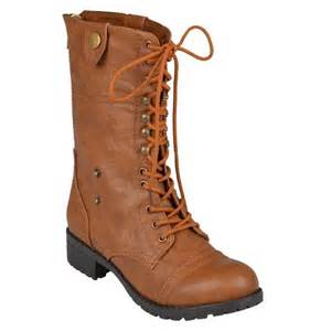 womens combat style boots target 39 s bamboo by journee fold combat boots target