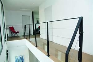 Garde corps pour escaliers modernes Steel Métal