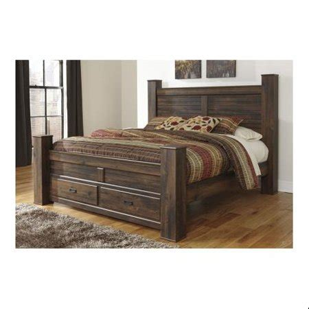 ashley bs quinden king size poster bed