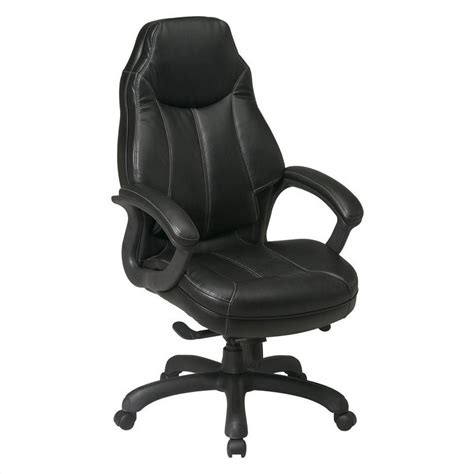 office deluxe oversized executive faux leather office