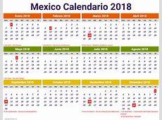 calendario 2018 mexico excel newspicturesxyz