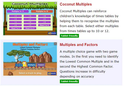 Mathsframe Times Table Games   Webframes.org
