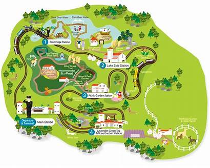 Map Eco Theme Jeju Guide Park Land