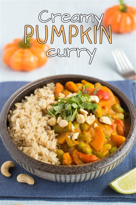 Thai Red Pumpkin Curry Recipe by Creamy Pumpkin Curry Amuse Your Bouche