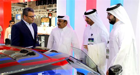 Qic Insured, Official Insurer Of Qatar Motor Show Gathered