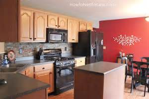 budget kitchen backsplash kitchen makeover plan how to nest for less