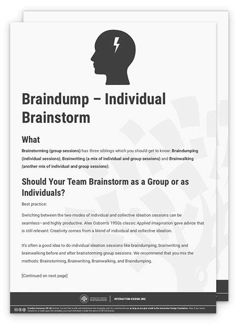 Learn How to Use the Best Ideation Methods: Brainstorming ...