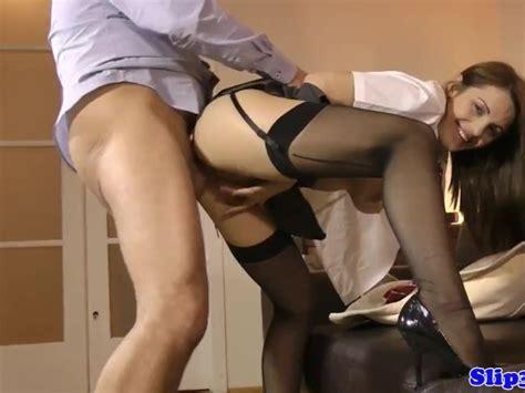 British Teen Rides Old Man Before Cocksucking Free Porn