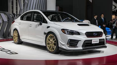 Sti Subaru 2019 by 2019 Subaru Wrx Sti S209 341 Hp Exclusive To America