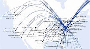 American Airlines Route Map North America