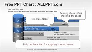 Bar Chart Ppt Diagram With Cylinders   Download Free