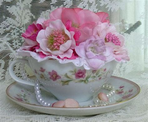 black paper towel holder teacup flower arrangement digital sign me