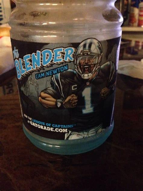 The Blender: Cam Newton now has his own Gatorade flavor
