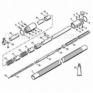 Stihl Ht 73 Pole Pruner  Ht73  Parts Diagram  Drive Tube