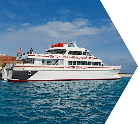 Key West Express Boat Specs by Key West Ferry To The Tortugas National Park