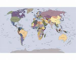 Papier Peint Planisphère : papier peint photo papier planisph re 254x184 cm acheter sur ~ Teatrodelosmanantiales.com Idées de Décoration