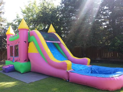 water slides and bounce house waterslide combos