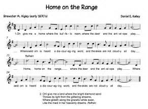 Song Home On the Range Recorder Notes