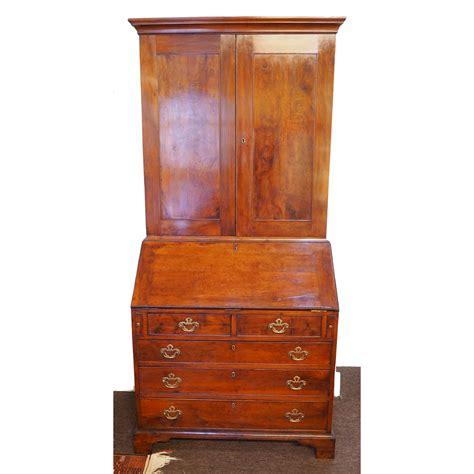 antique ls for sale rare george ii yew wood bureau bookcase loveantiques com
