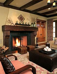 17 best ideas about rustic fireplace mantels on pinterest With fireplace surround ideas for perfect focal point