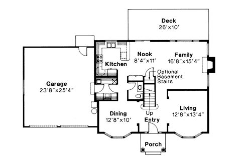 center colonial floor plans colonial house plans westport 10 155 associated designs