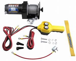 Amazon Com  Superwinch Lt2000 12v Utility Winch  2 000lb
