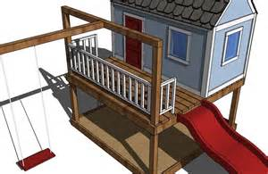 Playhouse For Plans Photo Gallery by White Playhouse Gable End Walls Diy Projects