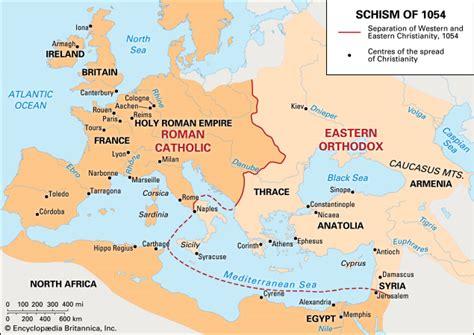 jerusalem cuisine schism of 1054 summary history effects britannica com