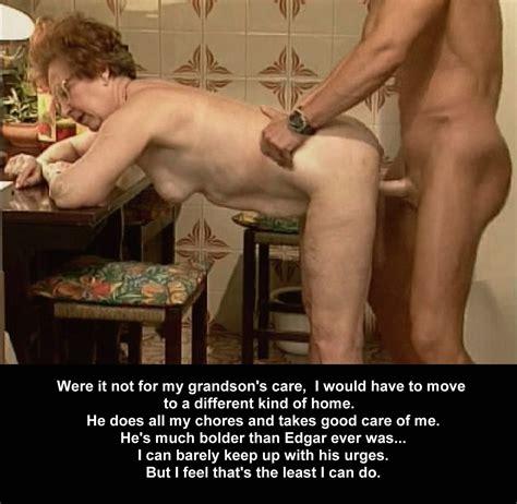 Granny Or Mother Taboo Incest Captions Momgrandmason