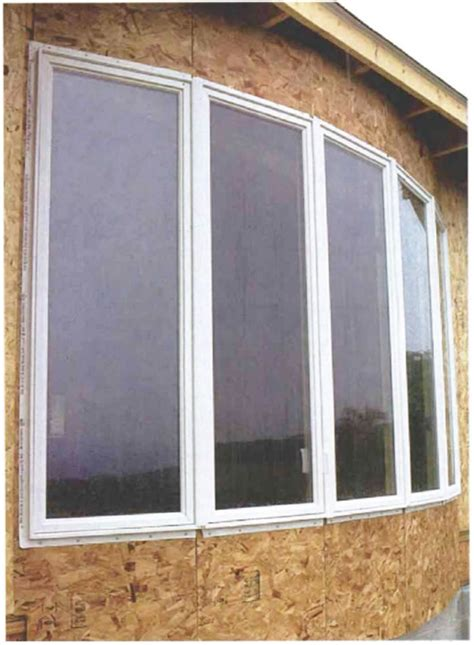 framing  walk  bow window fine homebuilding