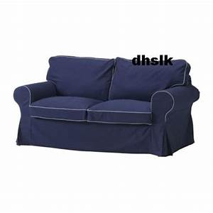 ikea ektorp sofa bed slipcover sofabed cover idemo dark With dark blue sofa bed