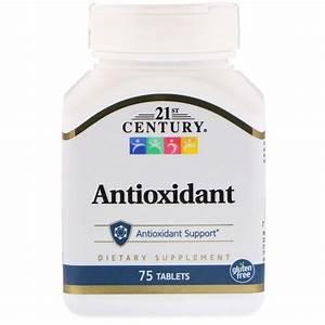 21st Century  Antioxidant  75 Tablets
