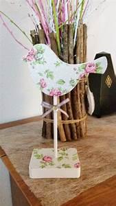 Holz Aufhellen Hausmittel : vogel aus holz serviettentechnik hand im gl ck mein ~ Lizthompson.info Haus und Dekorationen