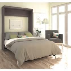 bestar queen murphy bed reviews wayfair